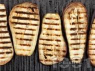 Лесни печени патладжани на барбекю или грил тиган